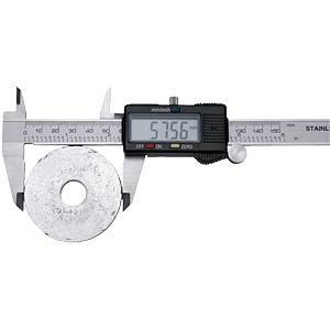 Vernier calliper, 150 mm with digital display FIXPOINT 77001
