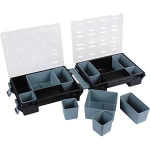 Twin organizer, 7´´ black, grey VELLEMAN OMT7