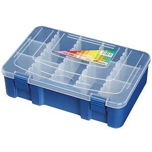 Assortment box, 276 x 188 x 75 mm PLASTICA PANARO 196