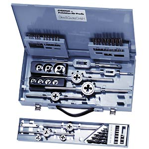 Thread-cutting tools, sheet-steel cassette. EXACT 10721