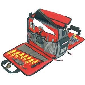 Werkzeugtasche, Techniker, Polyester, 460x330x210 mm C.K MAGMA MA2630