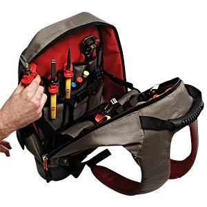 Werkzeugrucksack, Polyester, 400x460x200 mm C.K MAGMA MA2635