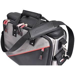 Werkzeugtasche, Techniker Plus, Polyester, 460x420x210 mm C.K MAGMA MA2632