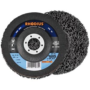 Abrasive fabric disc, Ø 125 mm RHODIUS 303151