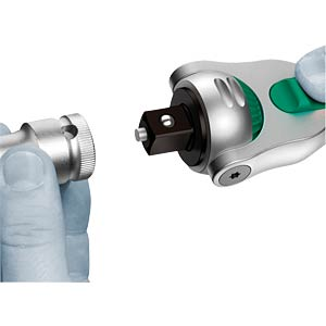 "Zyklop socket with 1/2"" drive WERA 5003600001"