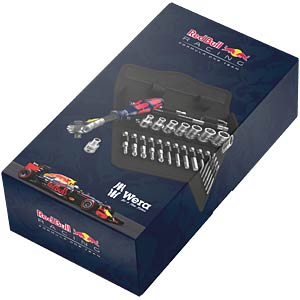 """Steckschlüsselsatz, Multi, 1/4"""", 26 -teilig, Red Bull Racing WERA 05227701001"""