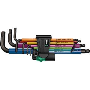Multicolour Winkelschlüsselsatz, metrisch, BlackLaser WERA 05073593001