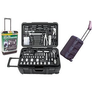 Werkzeugsatz, Werkzeugkoffer, Universal, 122-teilig BRÜDER MANNESMANN 29070