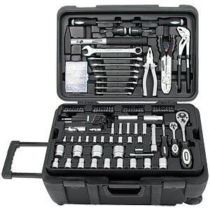 Werkzeugtrolly, 122-teilig BRÜDER MANNESMANN 29070