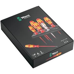 Schraubendrehersatz Kraftform Plus, gemischt, 7-teilig WERA 05006480001