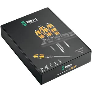 screwdriverset 977 TORX®, 6-pieces WERA 05024410001