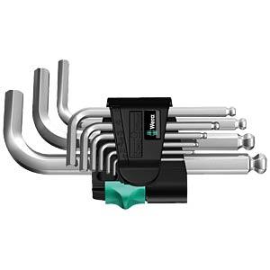 Winkelschlüsselsatz 950 PKS SMN 9-teilig WERA 05133163001