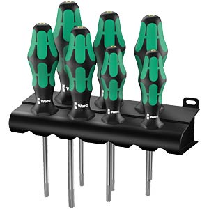 screwdriverset TORX® 367 HF 7-pieces WERA 05223161001