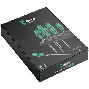 Schroevendraaier-set TORX® 367 HF, 7-delig WERA 05223161001