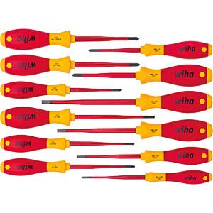 Schraubendrehersatz SoftFinish® electric slimFix, gemischt, 12-t WIHA 41003
