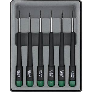 Slot-head screwdriver, 6 pieces DONAU 280-60