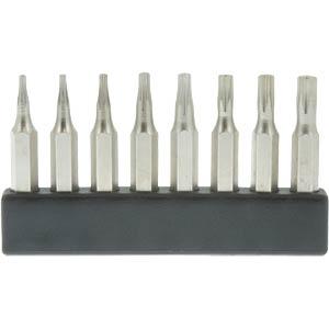 4-mm mini bit set , TX, 8 pieces DONAU MBS67