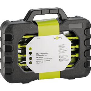 58-piece precision screwdriver case GOOBAY 74005