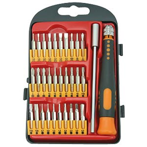 Screwdriver micro-bit set, 30 piece SPROTEK STD-6010