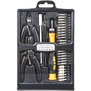 Werkzeugsatz, Feinmechanik, 31-teilig SPROTEK STD-5808