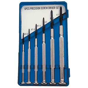 Cross-head screwdriver set, 6-piece FREI