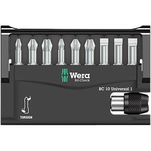 Wera TZ Bit Check, 10-piece WERA 5056161001