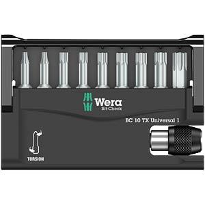 Wera TZ Bit Check, Torx, 9-piece WERA 5056164001