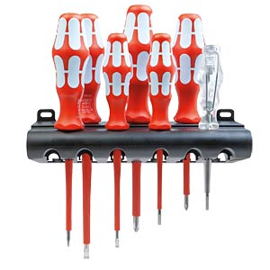 Wera 3160 i/7 screwdriver set, stainless steel WERA 5022728001