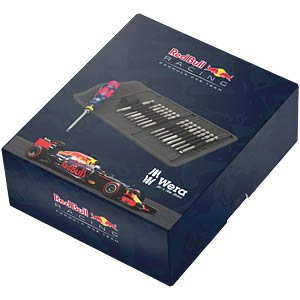 Bit-Satz Kraftform Kompakt 60, Red Bull Racing, 17-teilig WERA 05227703001