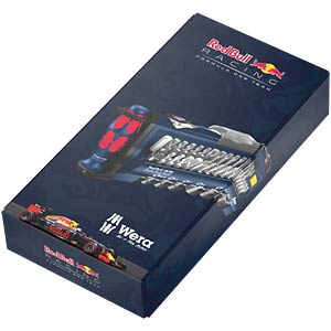 Bit-Satz Tool-Check Plus, Red Bull Racing, 32-teilig gemischt WERA 05227704001