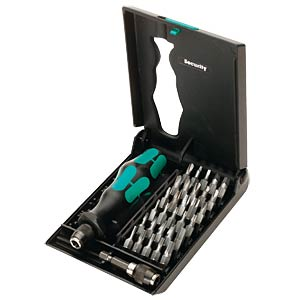 Bit-Satz Kraftform Kompakt 71 Security, 32-teilig Security Bits WERA 05057111001