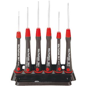 Wiha precision screwdriver set, slotted and Phillips WIHA 00503