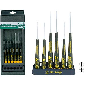 Wiha ESD screwdriver set, 6-piece WIHA 08463