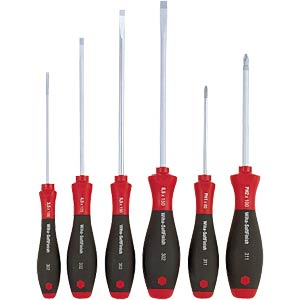 Screwdriver set, slotted and Phillips WIHA 07153