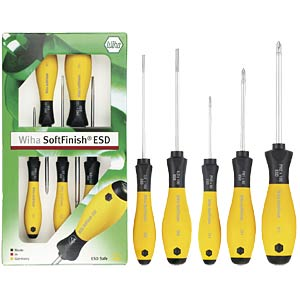 ESD 5-piece screwdriver set WIHA 27252