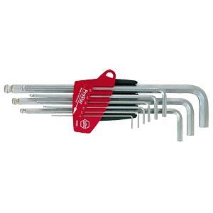Stiftschlüsselsatz, Innensechskant, 1,5-10, 9-teilig, ProStar WIHA 07192