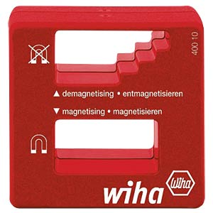 (De-)magnetiser for screwdrivers, etc. WIHA 01508