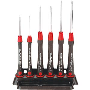 Wiha precision screwdriver set, hexagonal ball head WIHA 00536