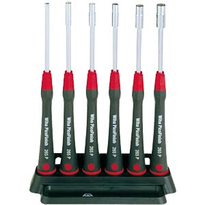 Wiha precision screwdriver set, hexagonal socket wrench WIHA 00557