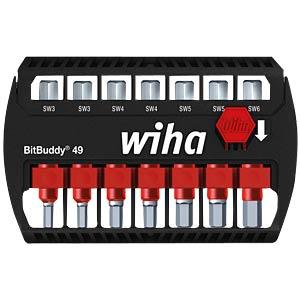 Wiha BitBuddy 49, hexagonal, 7-piece WIHA 36924