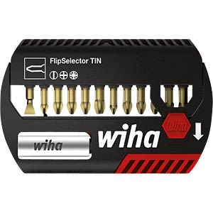 Flip selector torsion TiN, mixed, 13-piece WIHA 39065