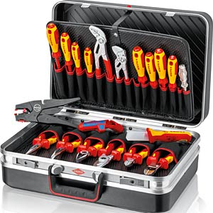 "Tool Case ""Electric"" 20 parts KNIPEX 00 21 20"
