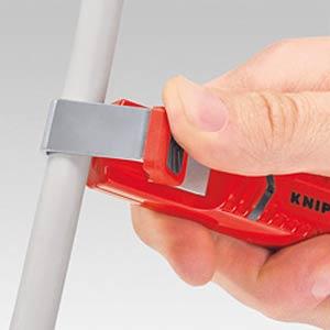 Abmantelungswerkzeug schlagfestes Kunststoffgehäuse 130 mm KNIPEX 16 20 16 SB