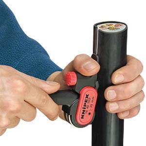 Abmantelungswerkzeug glasfaserverstärktes Polyamid 150 mm KNIPEX 16 40 150