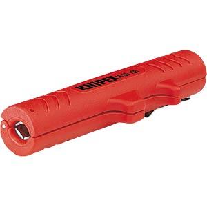 Abmantelwerkzeug, 125 mm, für Rundkabel, 8,0-13,0 mm² KNIPEX 16 80 125 SB