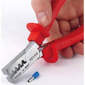Bootlace ferrule crimping pliers, 1.5 - 6 mm² FREI