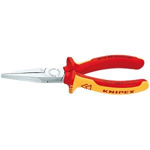 Langbeckzange verchromt 160 mm, flach KNIPEX 30 16 160