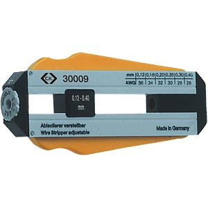 Precision cable stripper: 0.12 - 0.40 mm C.K 330009