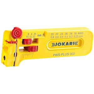 Abisolierwerkzeug, PWS-Plus 002, 42 mm, 0,25-0,80 mm² JOKARI 40025
