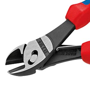 KNIPEX TwinForce® High Performance Diagonal Cutters 180 mm KNIPEX 73 72 180 F